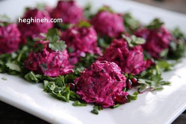 Beetroot Salad Recipe - Բազուկով Աղցան