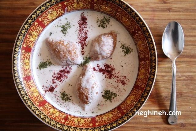 Kofte Yogurt Soup Recipe