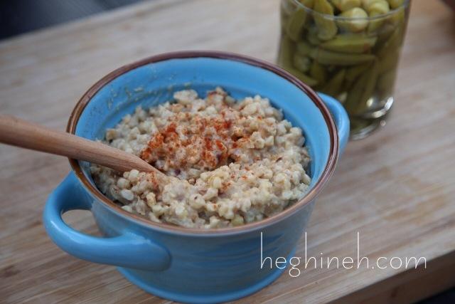 Vegetarian Harissa Recipe by Heghineh