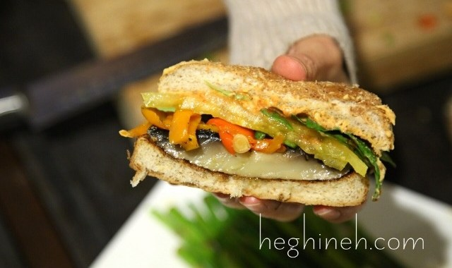 Portobello Mushroom Burger Recipe