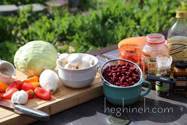 Sauteed Veggies Appetizer Recipe by Heghineh