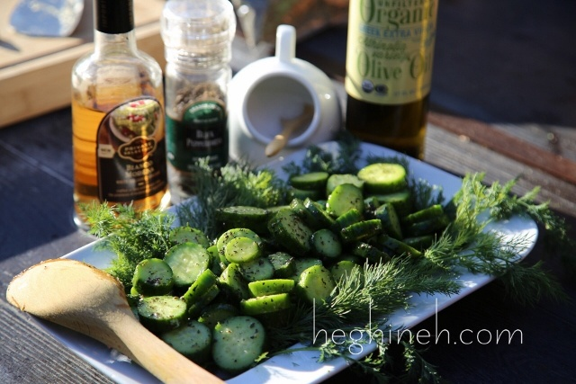 Cucumber Mint Salad Recipe - Armenian Cuisine