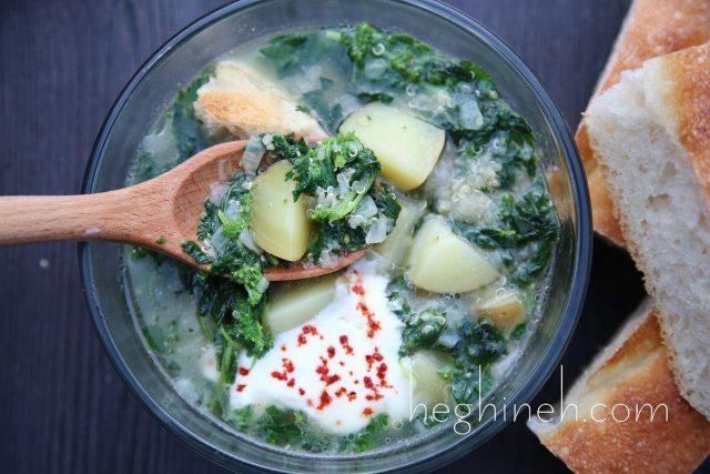 Nettle Soup Recipe - Եղինջով ապուր