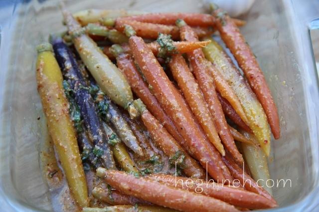 Tahini Carrot Appetizer Recipe by Heghineh