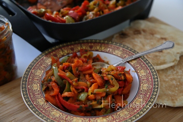 Sauteed Veggies Appetizer - Perets