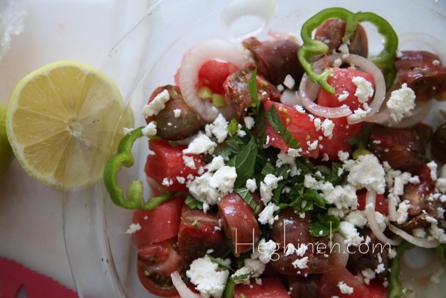 Peggy's Garden Salad by Heghineh