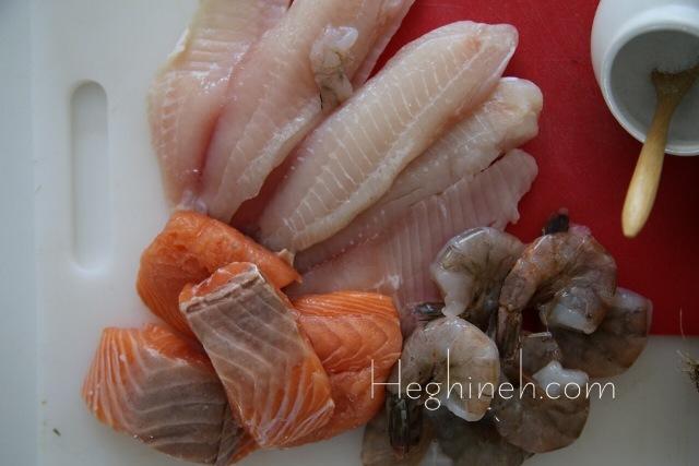 Shrimp Fish Kebab Recipe - Armenian Cuisine