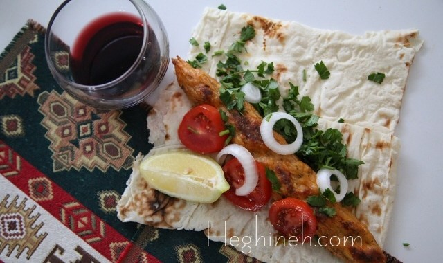 Fish Kebab Recipe - Armenian Cuisine - Heghineh Cooking Show