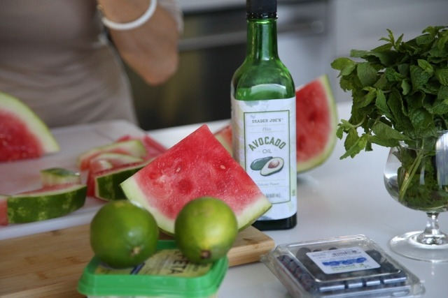 Watermelon Salad Recipe by Heghineh