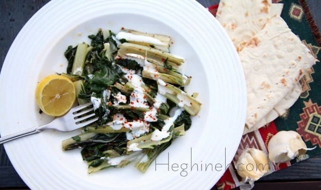 Sauteed Swiss Chard Recipe by Heghineh