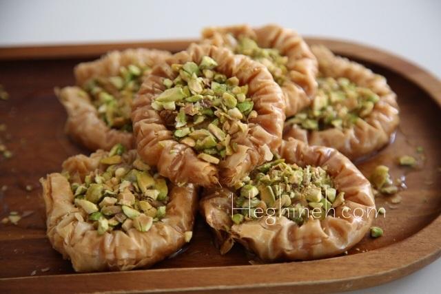 Pistachio Baklava Recipe by Heghineh