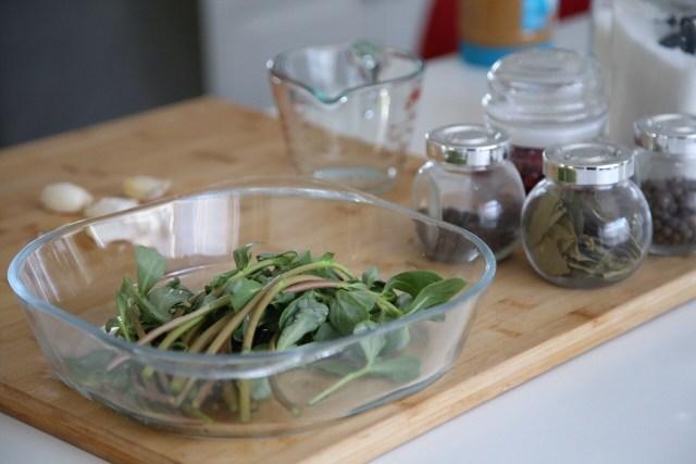 Pickled Purslane Recipe - Armenian Food
