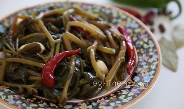 Pickled Purslane Recipe - Armenian Food
