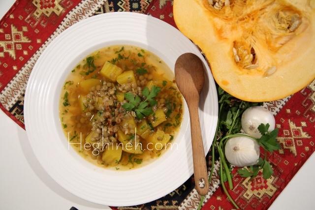 Pumpkin Soup - Ddmapour - Armenian Cuisine