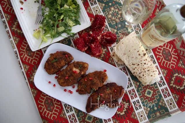 Tapaka Aralez - Fried Chicken Recipe - Armenian Cuisine