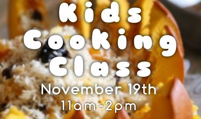 Kids Cooking Class - November 19th