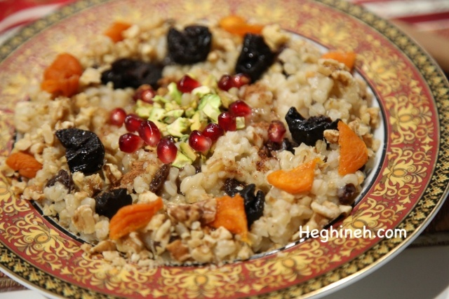 Anoush Apoor Recipe - Armenian Cuisine - Heghineh Cooking Show