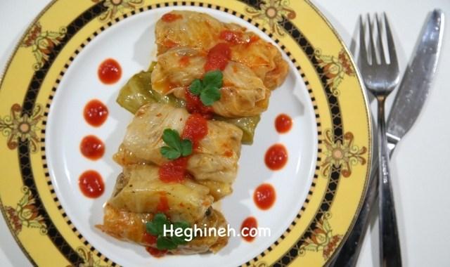 Pickled Cabbage Potato Tolma - Armenian Cuisine - Heghineh.com