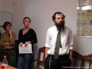 Visita do Rabino Boaz Pash | 2013
