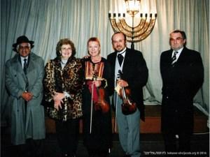 Recital de violino | Visitante de passagem, Otília Katzan, Danilo Souza e Aron Katzan