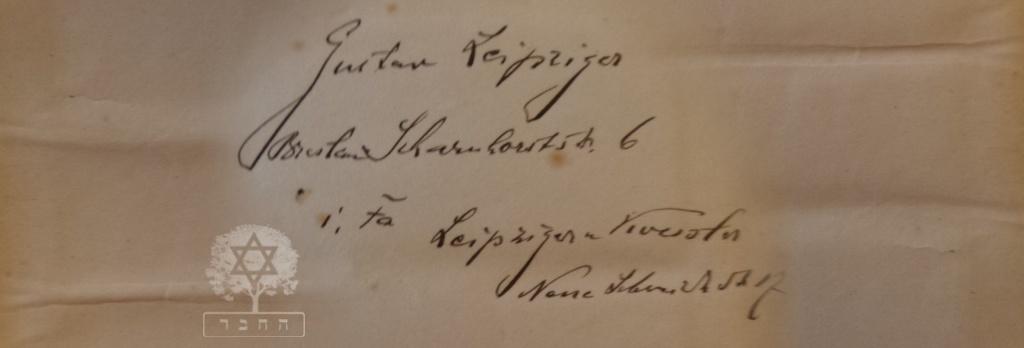 livro rezas - O Livro de Rezas de Gustav Leipziger de Breslau