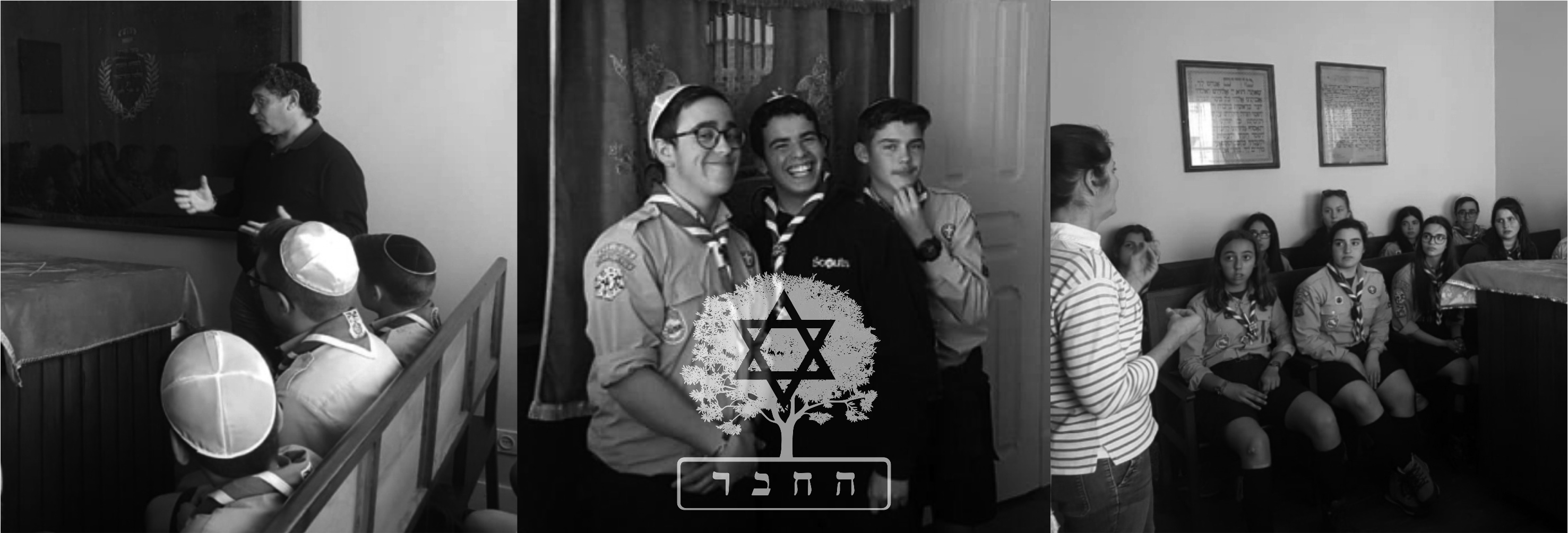 visita esc header - Visit of Scouts to the Ohel Jacob Synagogue