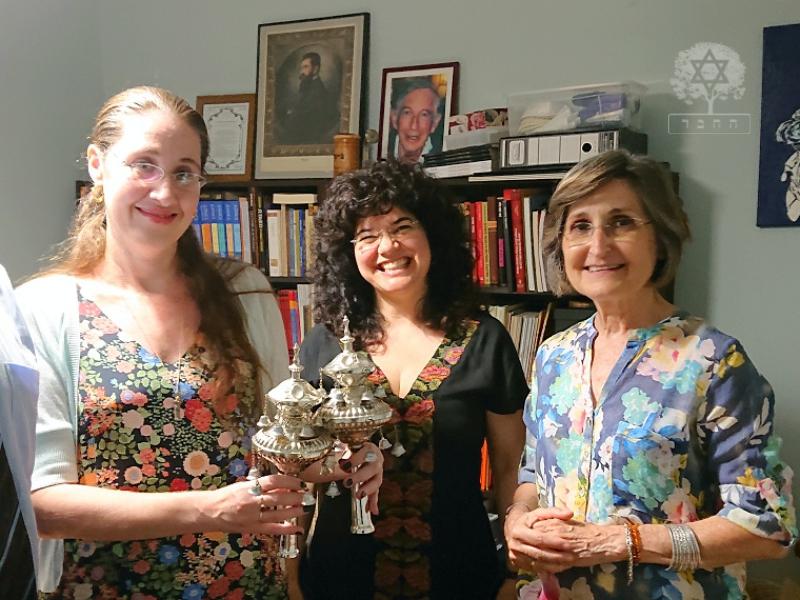 visita - Rabi Alona Lisitsa do Movimento de Judaísmo Reformista