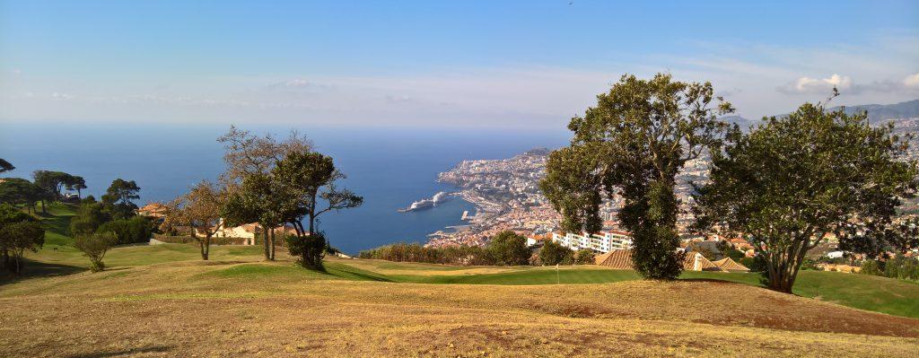 Grandioser Blick vom Palheiro Golfclub