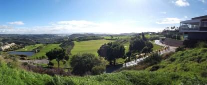 Liebe auf den ersten Blick! Schon der Blick vom Parkplatz auf die Anlage des Calanova Golf Club macht den Mund wässrig