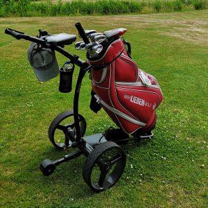 Mein Elektro Trolley CaddyOne 750 stammt auch von der Golfwerft