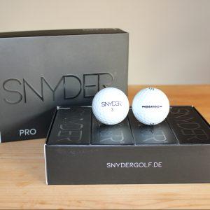 Der SNY Pro ist der Premiumball von Snyder Golf