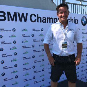 Gregor Biernath bei der BMW Championship in München