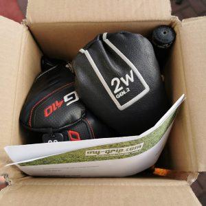 Abschicken für personalisierte Golfgriffe von my-grip.com