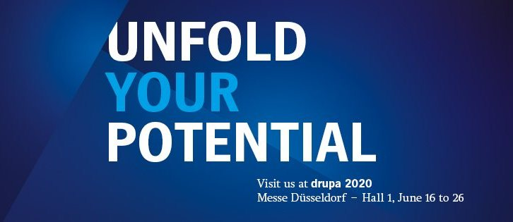UNFOLD YOUR POTENTIAL<BR></noscript>ハイデルベルグのdrupa 2020
