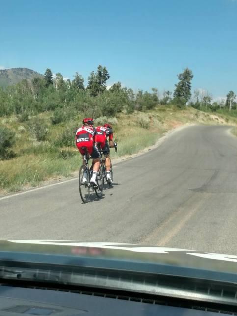 Joey and TJ trying to bridge to Darwin. 25 km to go.
