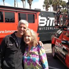 The first female on a pro tour team, Shelly was a pioneer. Her enthusiasm and energy remains infectious even today.