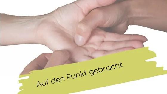 Reich mir Deine Hand zur Palmtherapy