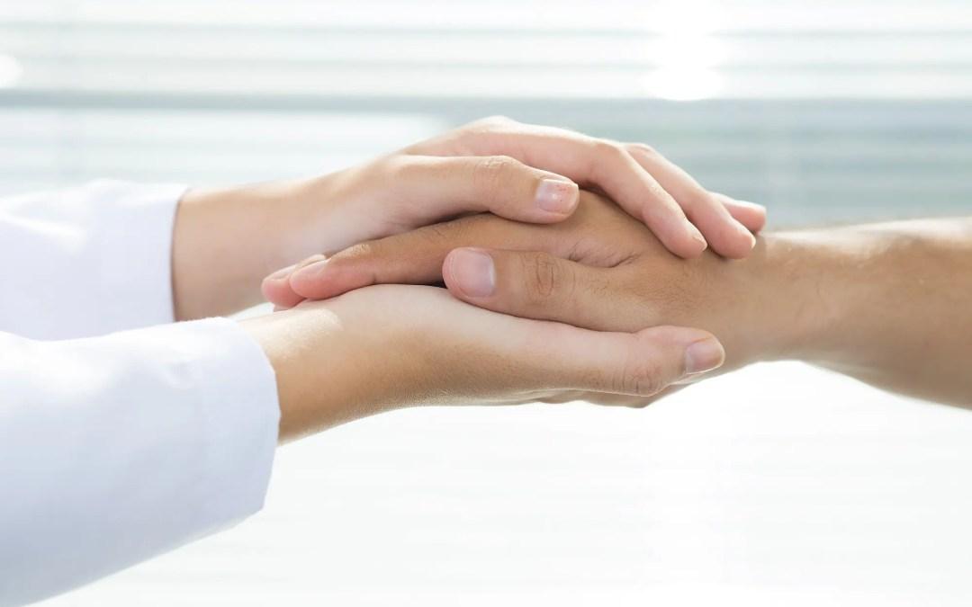 Reich mir Deine Hand Palmtherapy gegen Ängste