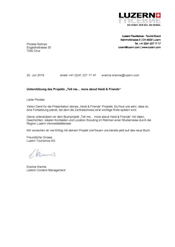 Luzern Brief Piroska-LTAG-Support