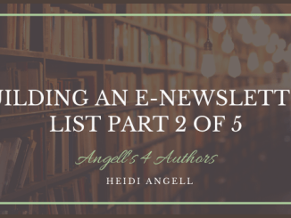 Building an E-newsletter List Part 2 of 5