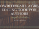 ProWritingAid- A Great Self-editing-tool for Authors