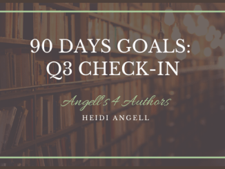 Goal Setting 90 Day Check in