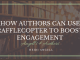 How Authors Can Use Rafflecopter to Boost Engagement
