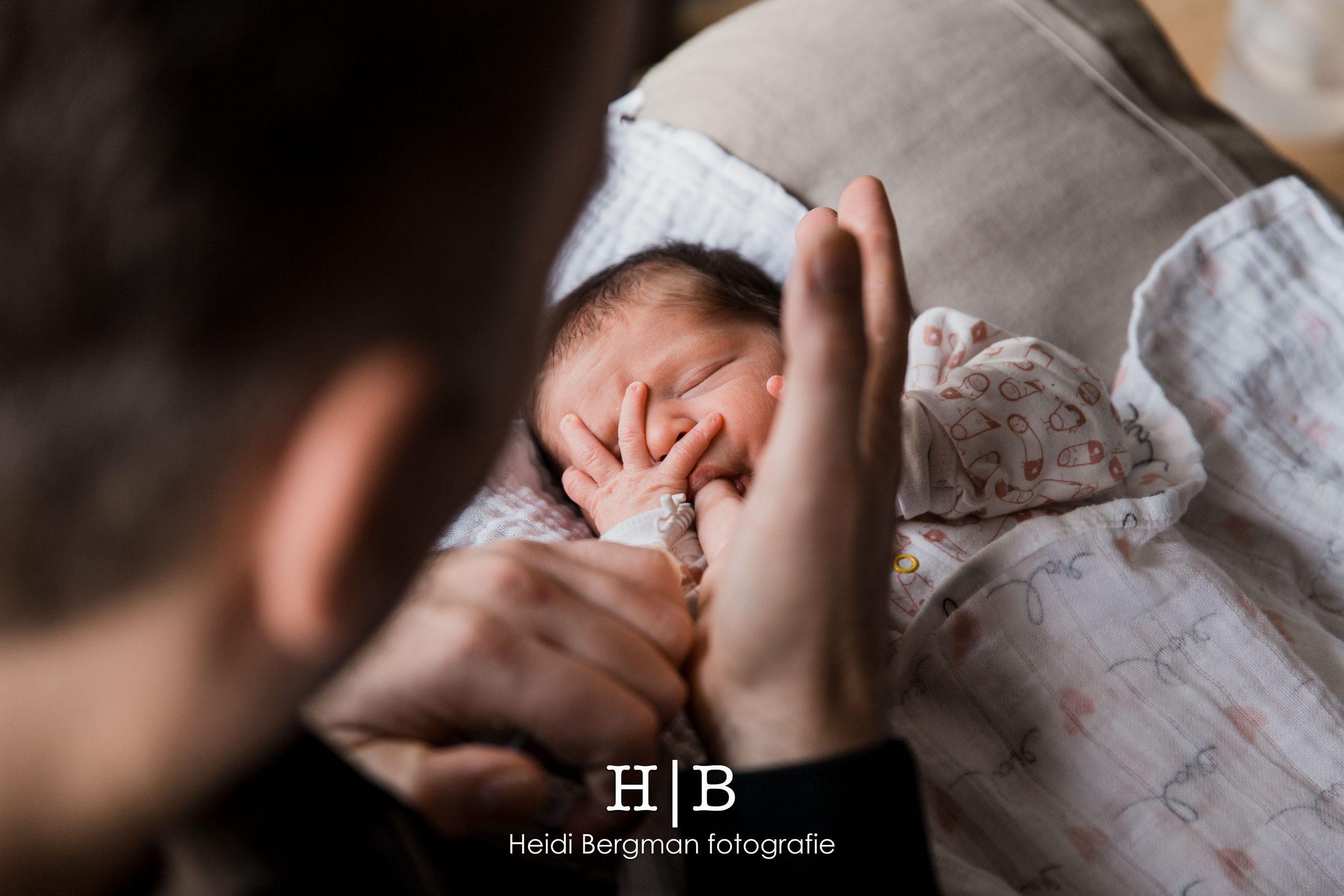 Newborn Fotografie Heidi Bergman