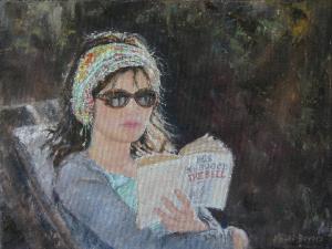 Katie - an oil portrait by Heidi Beyers