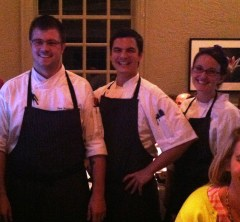 Chef Sam Stachon and the team from King's Kitchen
