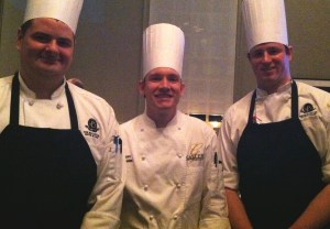 David Moore and the team from Gallery Restaurant at Ballantyne Resort