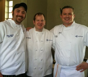 The team from Upstream Seafood