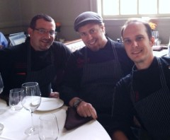 the team form Oassiin 8 Bistro from left, Chef Luca Annunziata, Chef Matt Krenz and chef Evan Micek