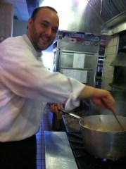 Fire in the City semi finalist , Chef Jon Fortes